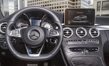 Mercedes dashboard image